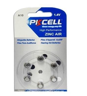 סוללת למכשיר שמיעה   10 PKCELL A